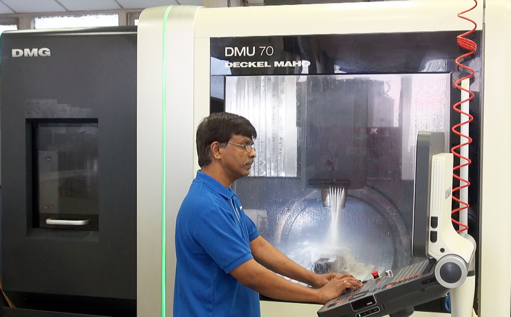 5 Axis Machining UK