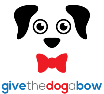 Give the dog a bow