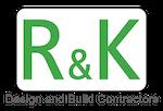 R & K Design and Build Contractors Logo